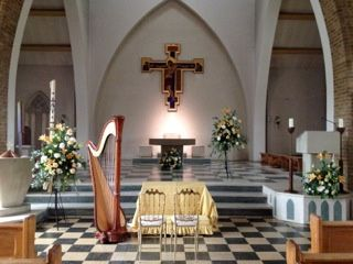 Harp for the church