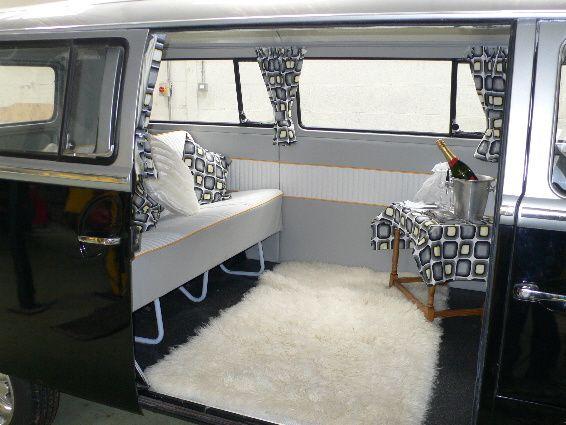 Interior of VW Camper