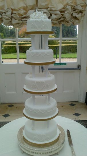 Blenheim 5 Tier Cakes With Grace