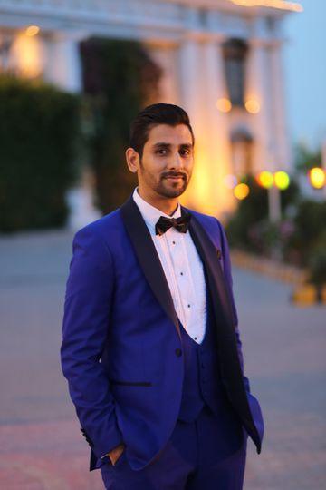 Bespoke evening suit