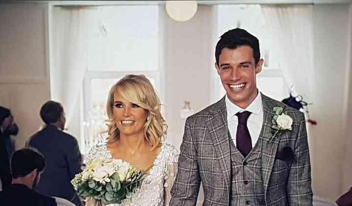 Bespoke three piece wedding