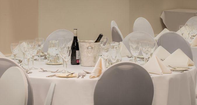 Tables at Hilton Nottingham