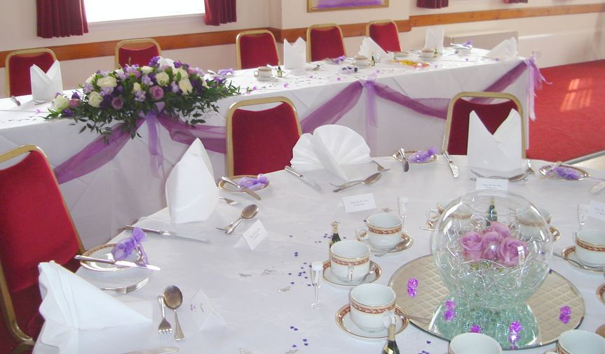 Fishbowl and top table