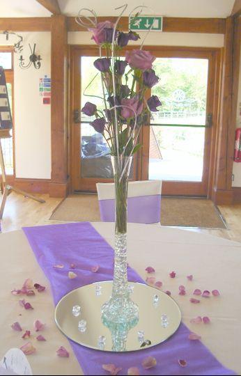 Rose lily vase