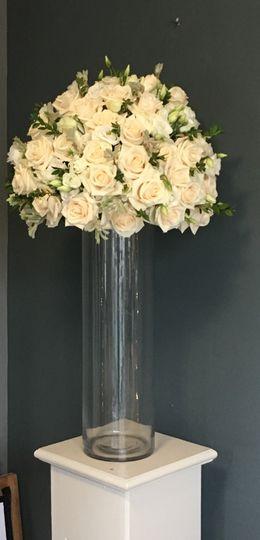 Tall Cylinder centrepiece