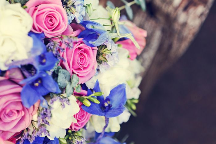 Summer Wedding Roses