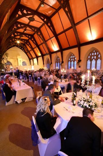 Evening in the Grand Hall