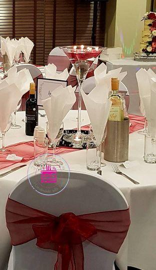 Wedding Table Decor & Sashes