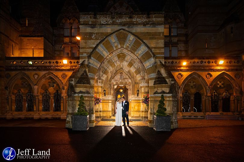 Ettington Park Wedding Photo