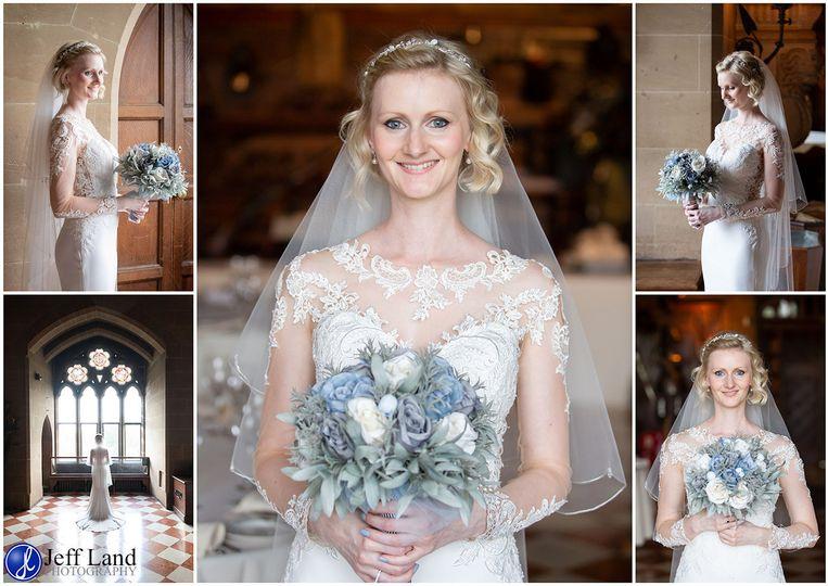 Bride at Warwick Castle