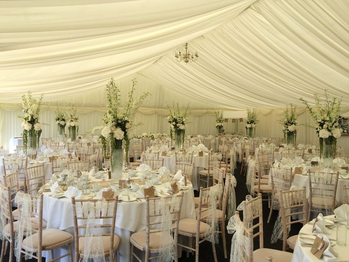 Our beautiful marquee