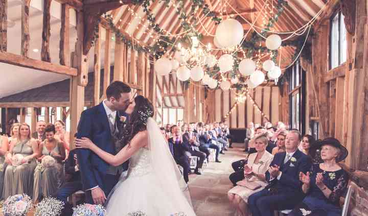 Our barn - indoor ceremony