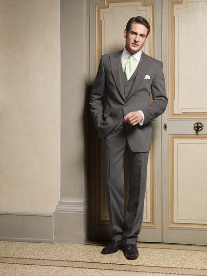 Lightweight Grey Lounge suit