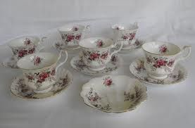 Tea cups for sale or hire