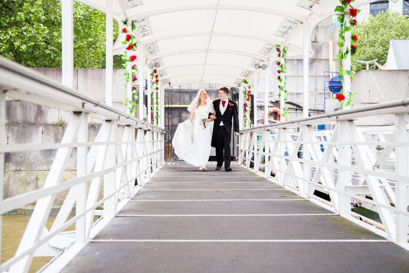 Wedding on board R.S. Hispanio
