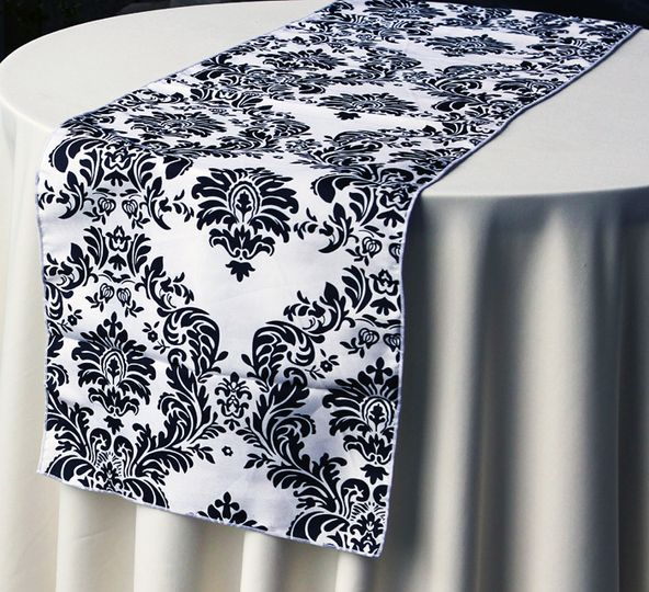 Ornante Flock Table Runner