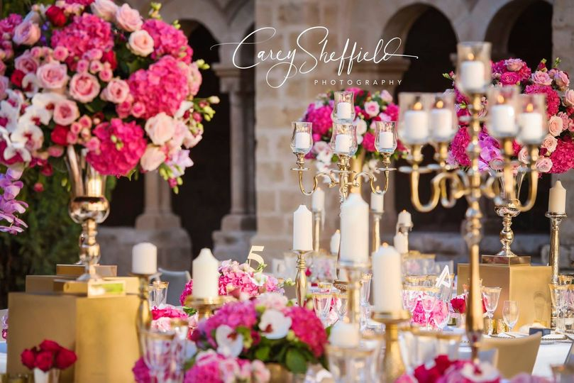 Luxury wedding in Spain