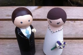 Love on Top - Cake Toppers