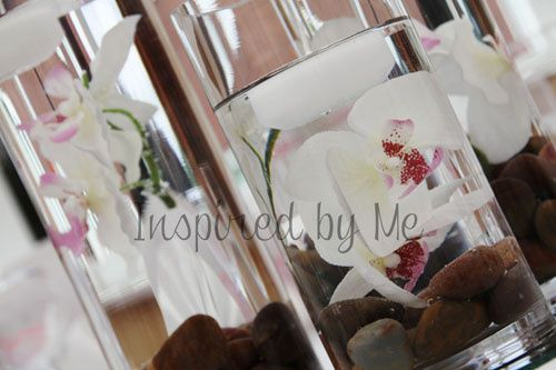 Orchid centrepieces
