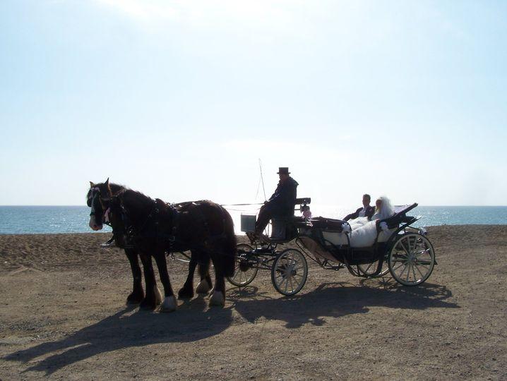 Wedding by the sea in Bridport