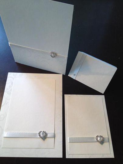 Block printed backing card