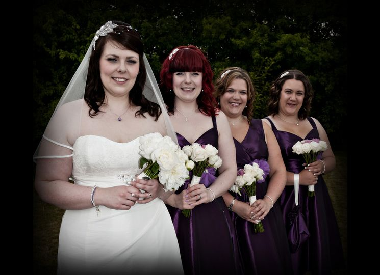 Lucy and Bridesmaids 2011