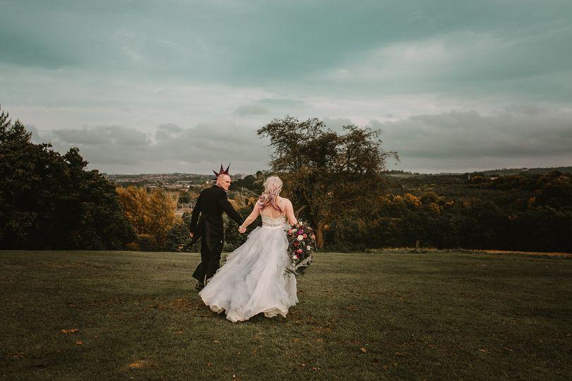 Malone house wedding