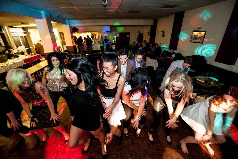 Guests fill dancefloor
