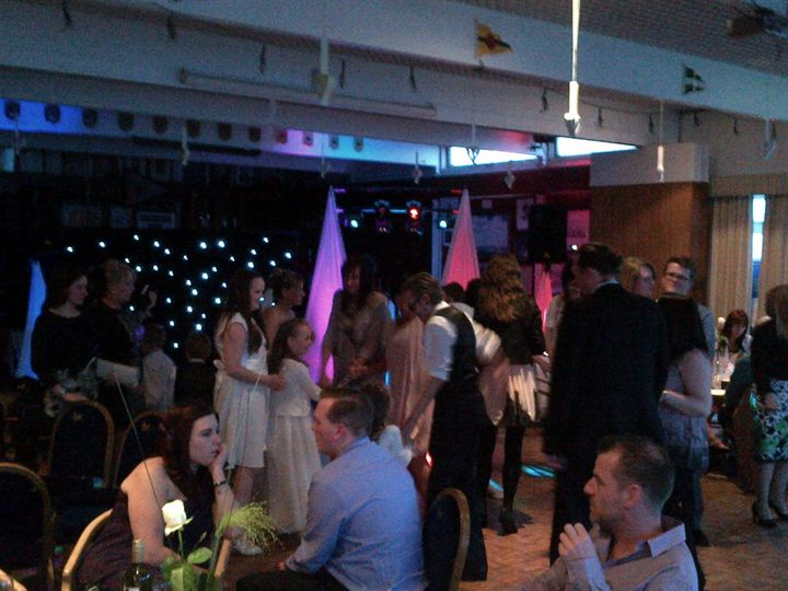 Wedding at West Lancs Y.C.