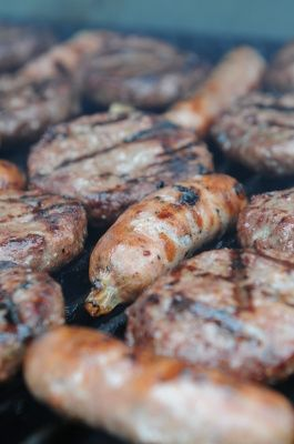 BBQ burgers and bangers