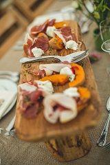 Parma ham & squash