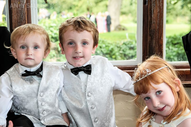 Wedding children guests
