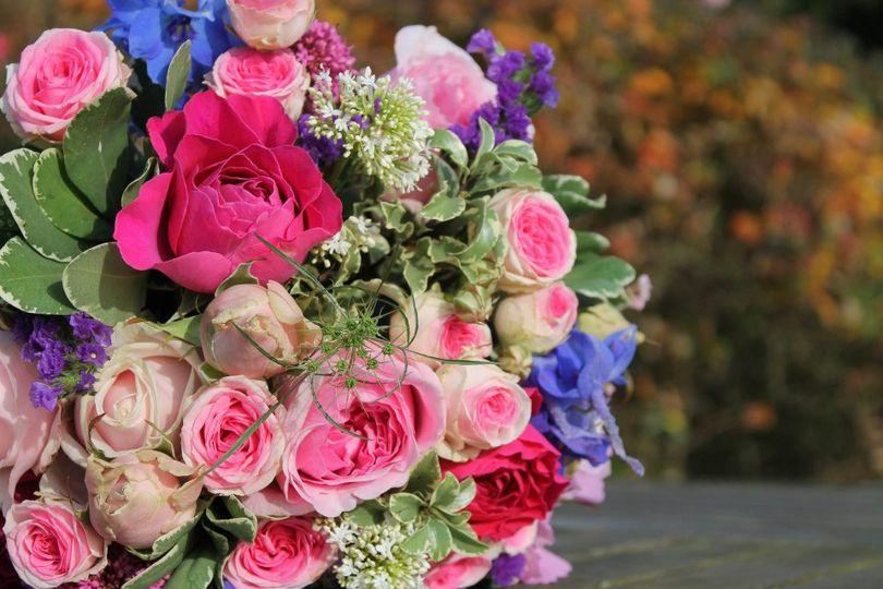 Scented garden bouquet