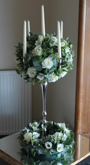 Ivory candelabra