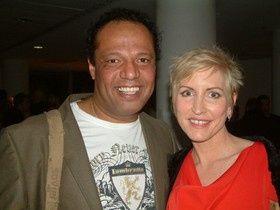 Jahson with Heather Mills