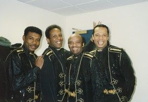 Touring with the Drifters