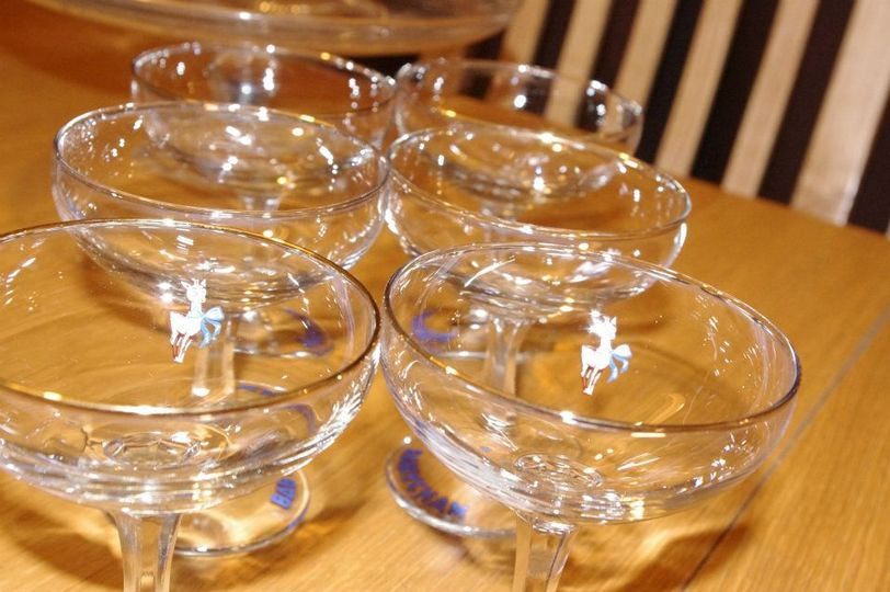 Babycham Glassware Hire