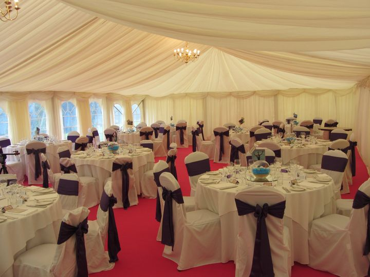 Marquees are welcome!