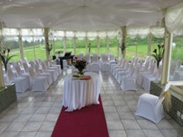 Welcoming layout for ceremony