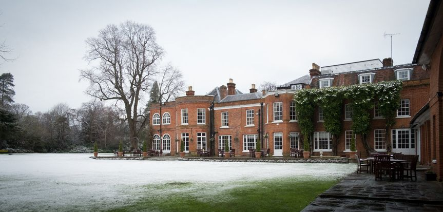 Royal Berkshire in the snow