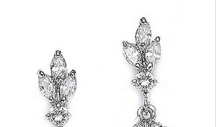 Acacia Pearl Bridal Earrings