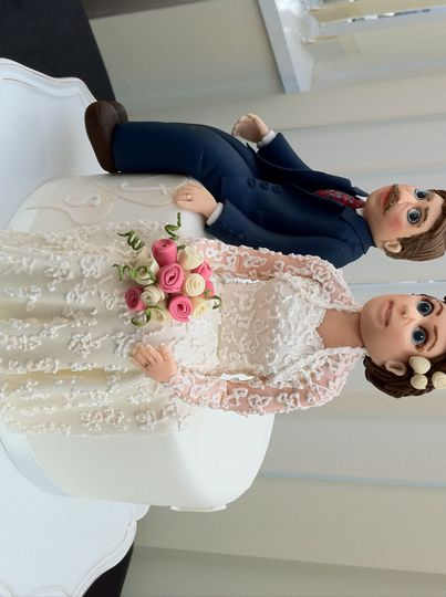 Hand-made Bride and Groom