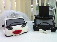 Smart cars wedding cake