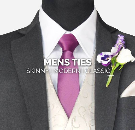 Ties cravats and bowties