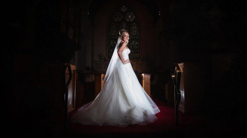 Bride in church