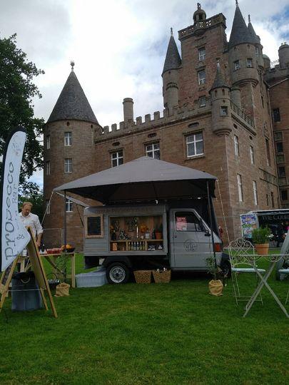 Glamis Castle Food festival