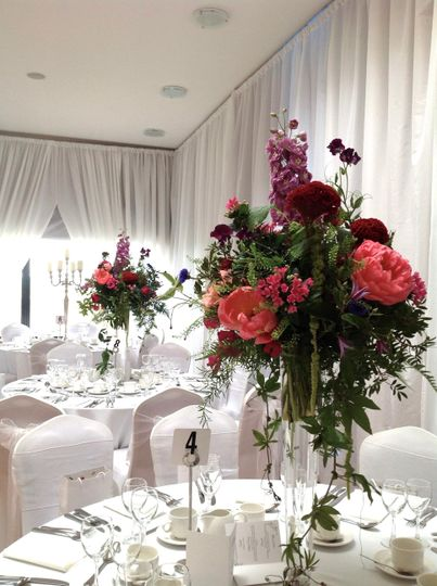 Elevated centrepieces