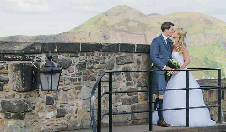 Edinburgh Castle Wedding Film