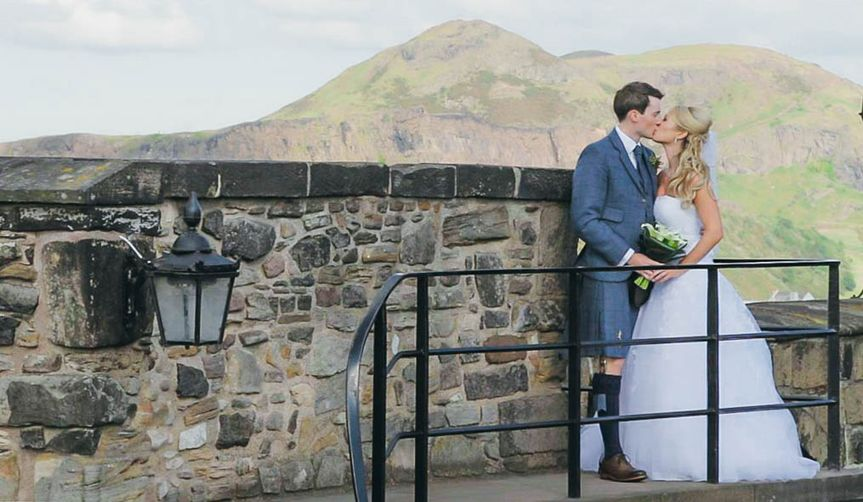 Edinburgh Castle Wedding Film