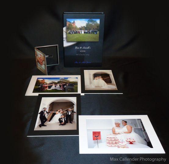 Portfolio & images on USB